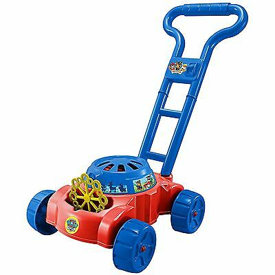 Paw Patrol Bubble Lawn Mower Kids Childrens Colourful Fun Activity Toy Game Gift
