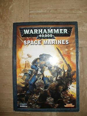 Warhammer 40,000 Space Marines CodeX Book L@@K