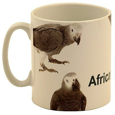 I Love My African Grey Mug Mothers Day Gift