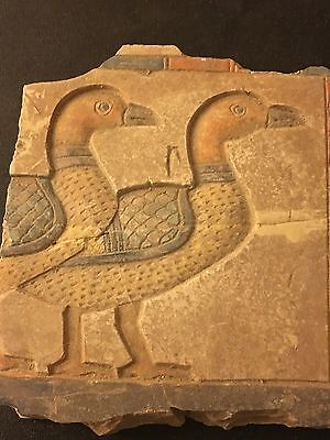 Rare Ancient Egyptians goose limestone -1482 BC to 1479 BC