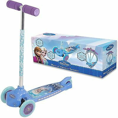 Disney Frozen Princess Childrens 3-Wheel Move n Grove Scooter Gilrs Activity Toy