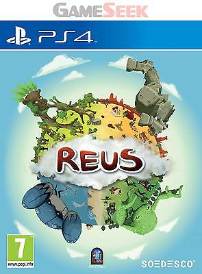Reus - Playstation Ps4 Brand New Free Delivery