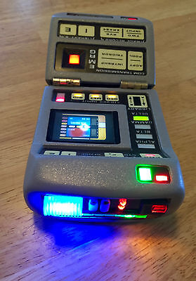 Star Trek Mark VII Science Tricorder Prop electronics upgrade kit! New Features!