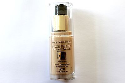 Max Factor FaceFinity All Day Flawless Foundation - Please Choose Shade: