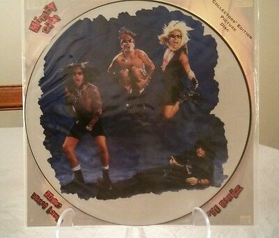 Mötley Crüe Home Sweet Home'91 Remix Picture Disc Hard Rock Glam Metal