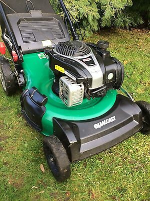 "Qualcast 20"" Cut Self Propelled Petrol Lawn Mower"