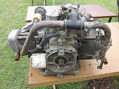 OMC air cooled 2 cylinder cushman motorcycle  boat engine microlight marine