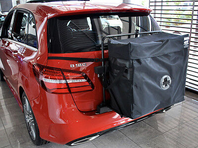 Mercedes B Class 1993 + Roof Box - Unique Alternative 30% More Boot Space