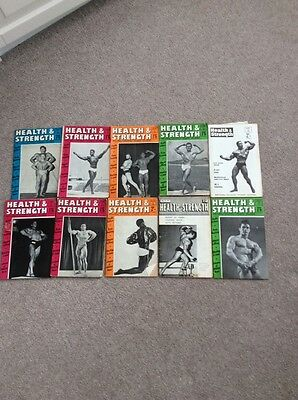 Health And Strength Magazines From The 1950S And 1960S
