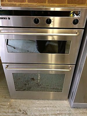 Siemens Built In Double Oven - Stainless Steel HB91550GB