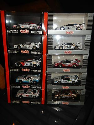 1:43 Le Mans BMW M1 Collection. 1980 to 1985