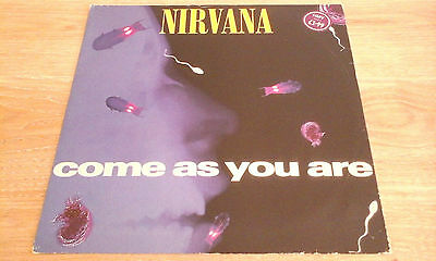 "Nirvana - Come As You Are (45-Rpm 12"" Single Original Pressing 1992)"