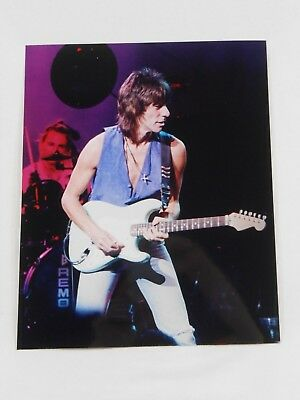 8x10 Color Concert Photo of Jeff Beck
