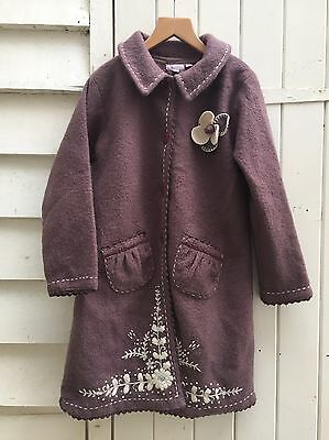 Girls Monsoon Wool Coat Age