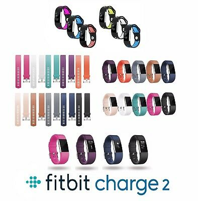 Replacement Sports Silicone Watch Band Strap Bracelet For Fitbit Charge 2