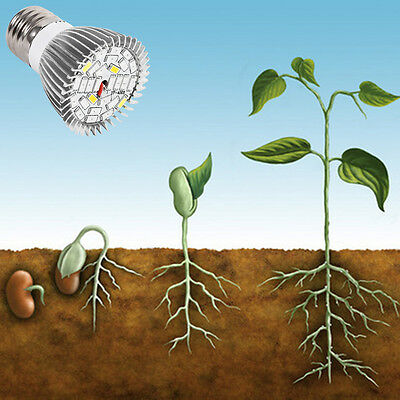 85-265V LED Grow Light Bulb 18W E27 Plant Growing Lamp For Indoor Flower Garden