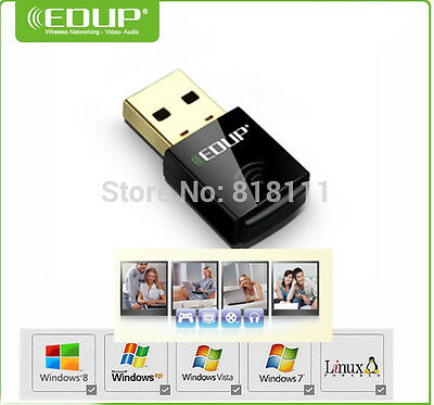 Edup Ep-N1557 300mbps Wifi Wireless USB Network 802.11n/G / B Adaptador Lan Card