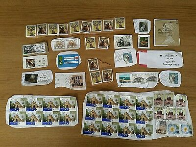 Lot of Used post stamps Ireland Poland