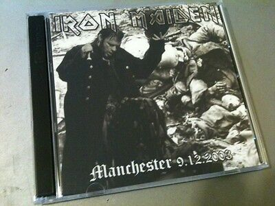 Iron Maiden Double CD Manchester England Dance Of Death Tour 2003