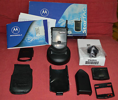 Cellulare Motorola StarTAC 130, Cell phone unlocked, Boxed + Accessories