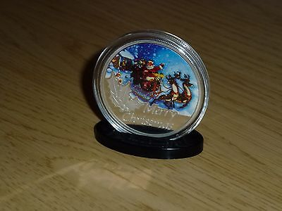 Merry Christmas Santa Claus Father Christmas Wishing Coin No. 2