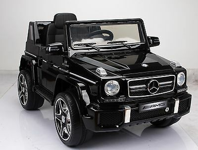 Original Mercedes-Benz G63 Amg Kinderauto Elektroauto 12V Kinderfahrzeug Mp3