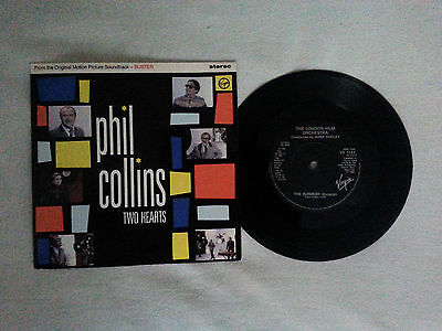 PHIL COLLINS  - Two Hearts SP / Christmas Gift