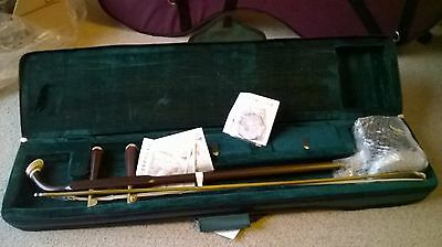 erhu chinese instrument and carry case