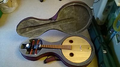 Ruan Chinese Instrument, Carry Case and Accessories