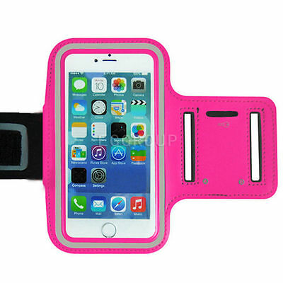 Gym Running Jogging Armband Case Holder For iPhone 6 Plus Samsung Note 7 5 4/ C7