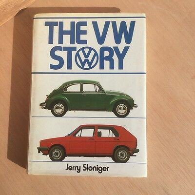 The VW Story Sloniger Collectable Campervan Beetle