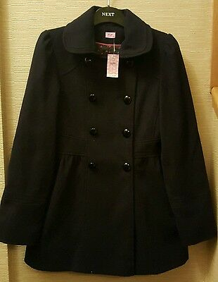 F&F - BNWT! Navy Blue Coat - Age 13-14 - Excellent Condition!