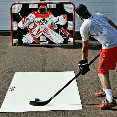Brand New Authentic Hs Extreme Hockey Goal & Hs Extreme Shooter Tutor