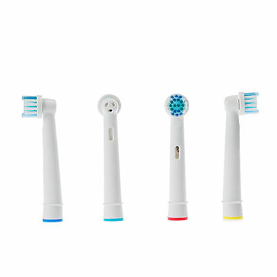4Pcs Electric Toothbrush Heads Replacement Compatible With Oral B Braun Models