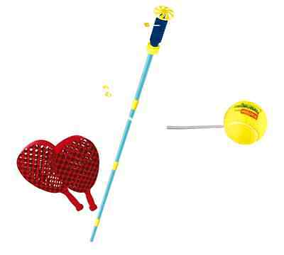 Classic Swingball Complete with 2 265 g Checkerbats and up to 1.6 m Pole Spike