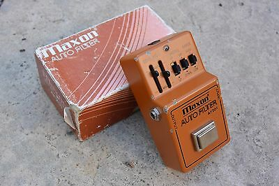 1970s Maxon AF-201 Auto FIlter Wah Effects Pedal w/Box