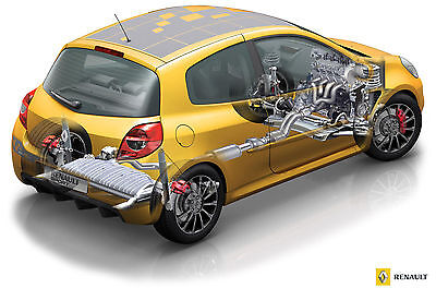 Renault Clio III X85 Wiring Diagrams - Incl Renault Sport 197/200 Cup R27
