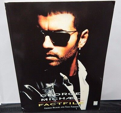 George Michael Factfile Book - Tony Parsons - 1992 - Fantail - Wham - Rare