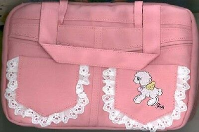 Precious Moments- Girl Pink Bible Cover  with Lamb on Front   NEW