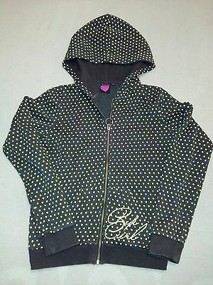 Rip curl junior girl size 14 spotty brown hoody