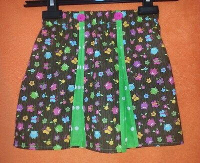 New Girls Cute Pleated Owl Skirt. Unique. 1 Off. Age 4-6 Original