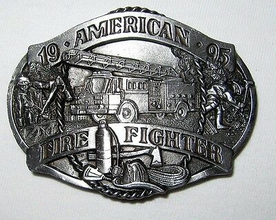1995 American Fire Fighter Commemorative Numbered Ltd. Ed. Belt Buckle, Siskiyou