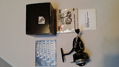 Vintage Garcia Mitchell 300A Spinning Reel Fishing & Original Box & Papers Used