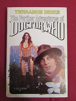 The Further Adventures of Doctor Who by Terrance Dicks - Hardback - 3 Stories