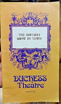 The Dirtiest Show In Town - Duchess Theatre Programme - 1971 Theater Playbill