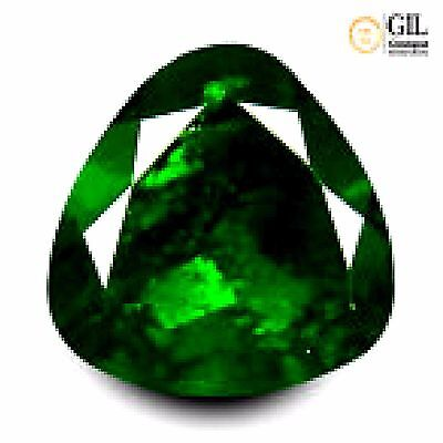 3.06 ct GIL Certified Incredible Trillion Cut (9 x 9 mm) Un-Heated Kornerupine
