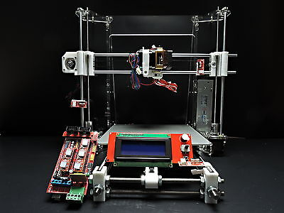 [SINTRON] Stampante 3D full complete Kit for Reprap Prusa i3 MK3 heatbed,LCD,MK8