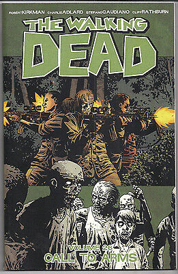 The Walking Dead - Vol. 26  Call to Arms   New/Softcover FREE SHIPPING