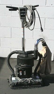 Clarke American Obs-18 Square Buff Floor Sander – Dust Control Version