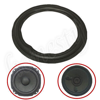 4 Size Speaker Edge Surround Decorative Circle Repair Rubber Bass Woofer Horn